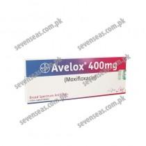 AVELOX TAB 400MG (1X5)