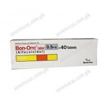 BON-ONE TAB 0.5MG (4X10)