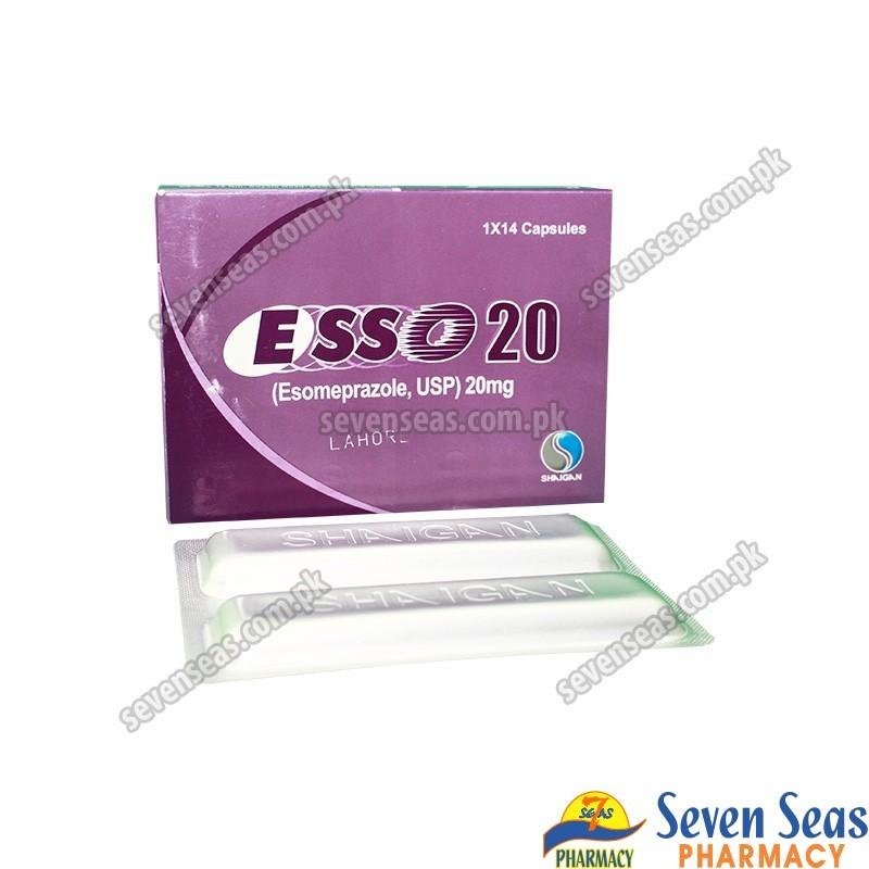 ESSO-20 CAP 20MG (1X14)