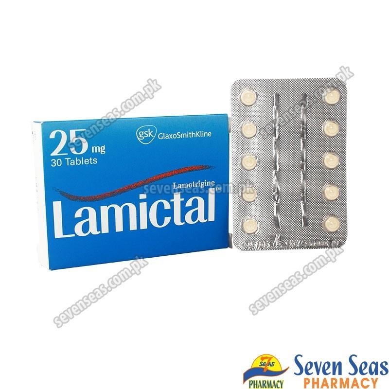LAMICTAL TAB 25MG (3X10)