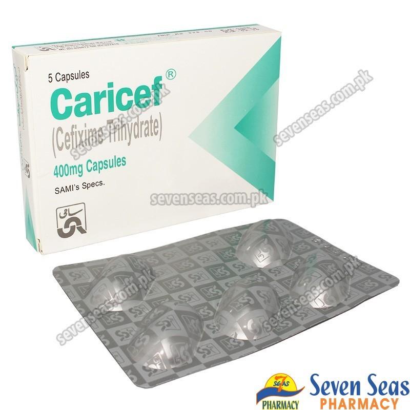 CARICEF CAP 400MG (1X5)