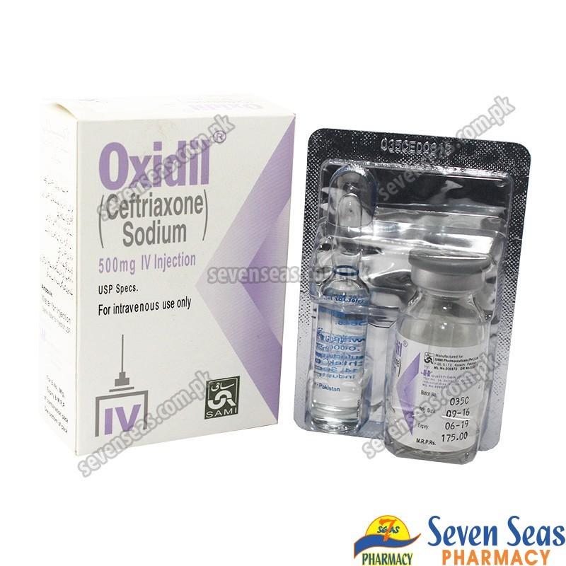 OXIDIL IV INJ 500MG (1X1)