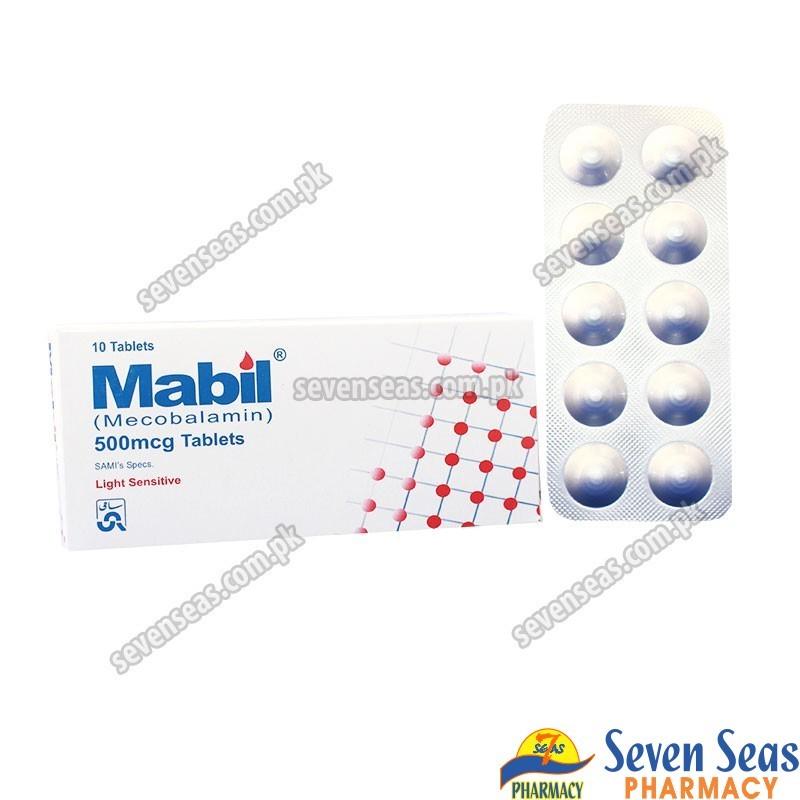 MABIL TAB 500MCG (1X10)