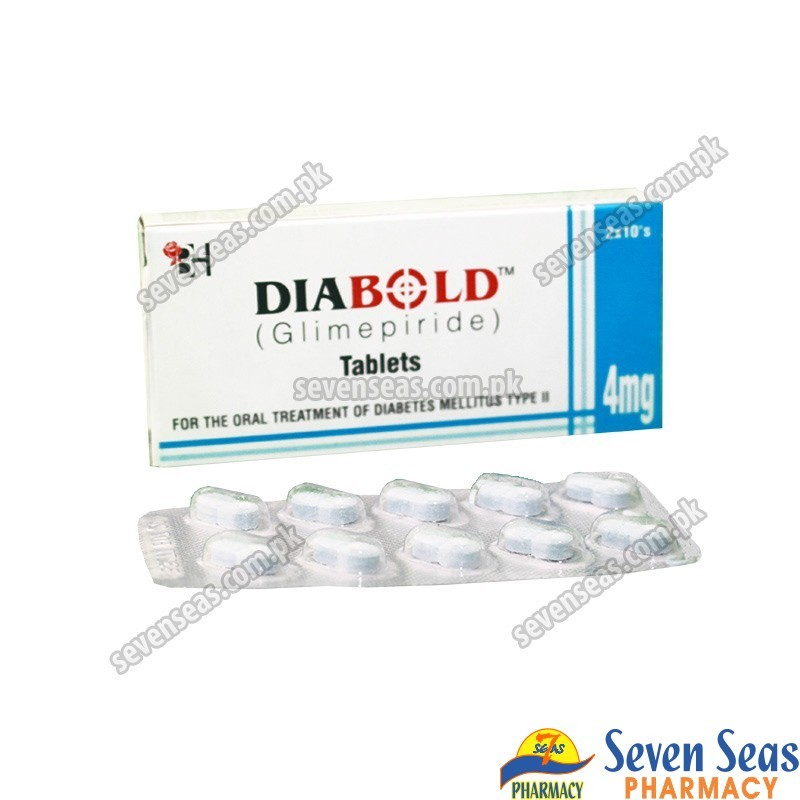 DIABOLD TAB 4MG (2X10)