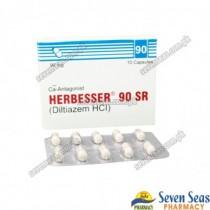 HERBESSER 90 SR CAP 90MG (1X10)