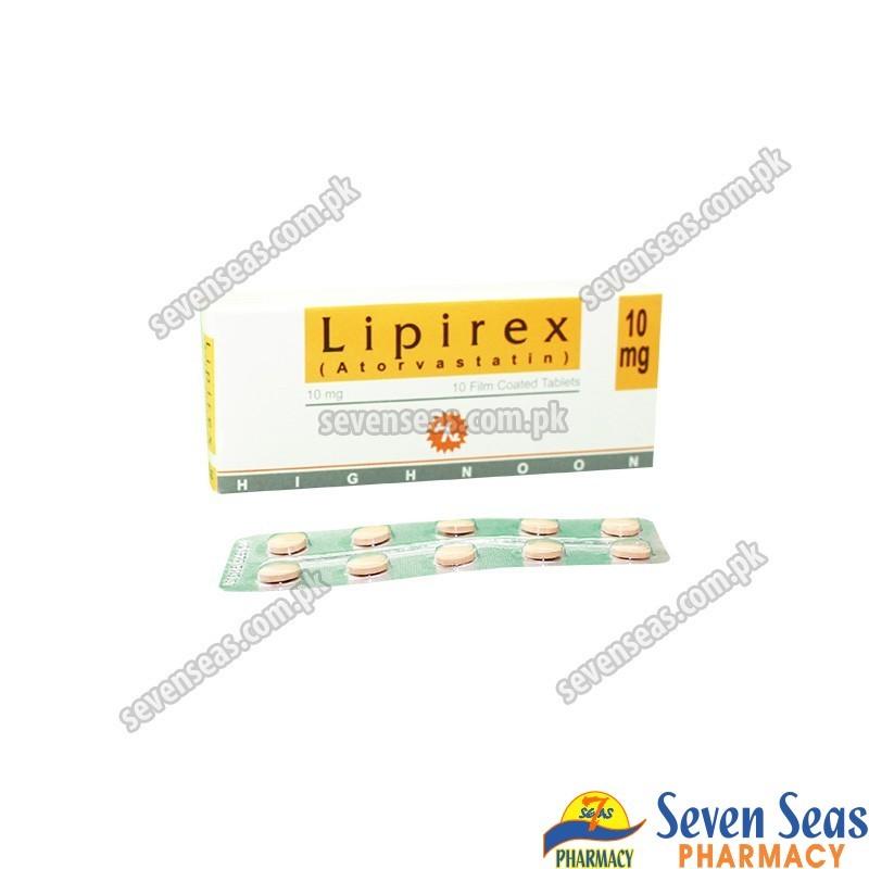 LIPIREX TAB 10MG (1X10)