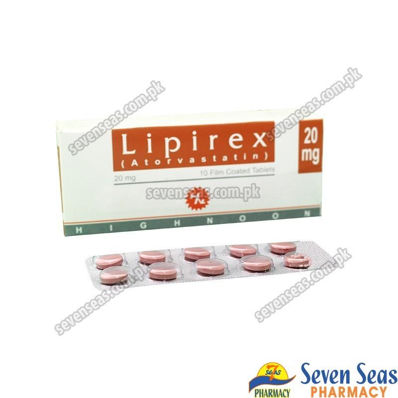 LIPIREX TAB 20MG (1X10)