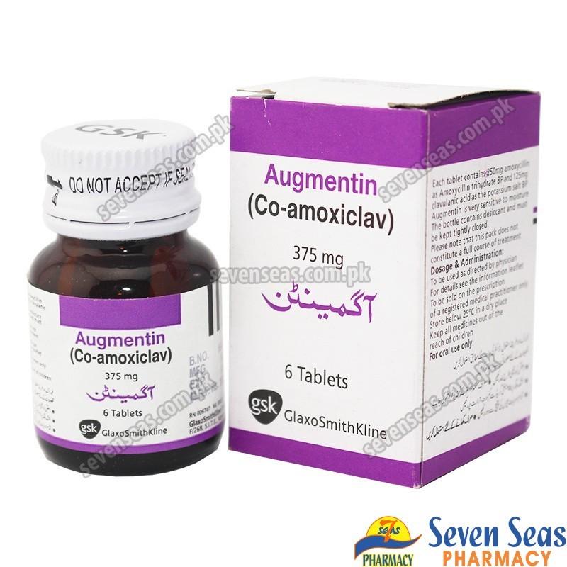 AUGMENTIN TAB 375MG (1X6)