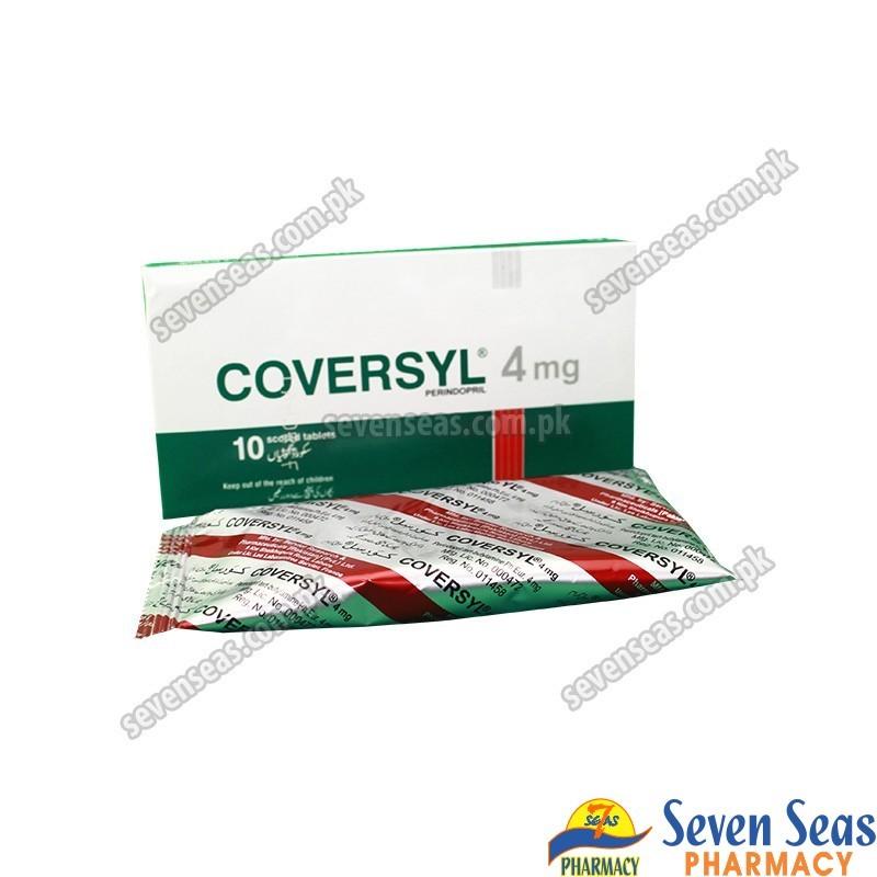 COVERSYL TAB 4MG (1X10)