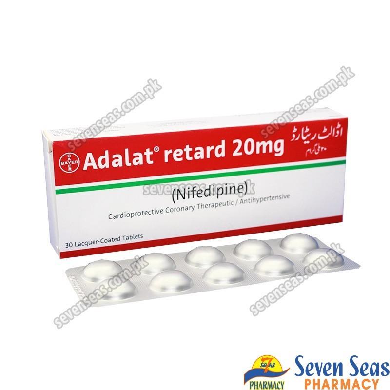 ADALAT RETARD TAB 20MG (1X30)