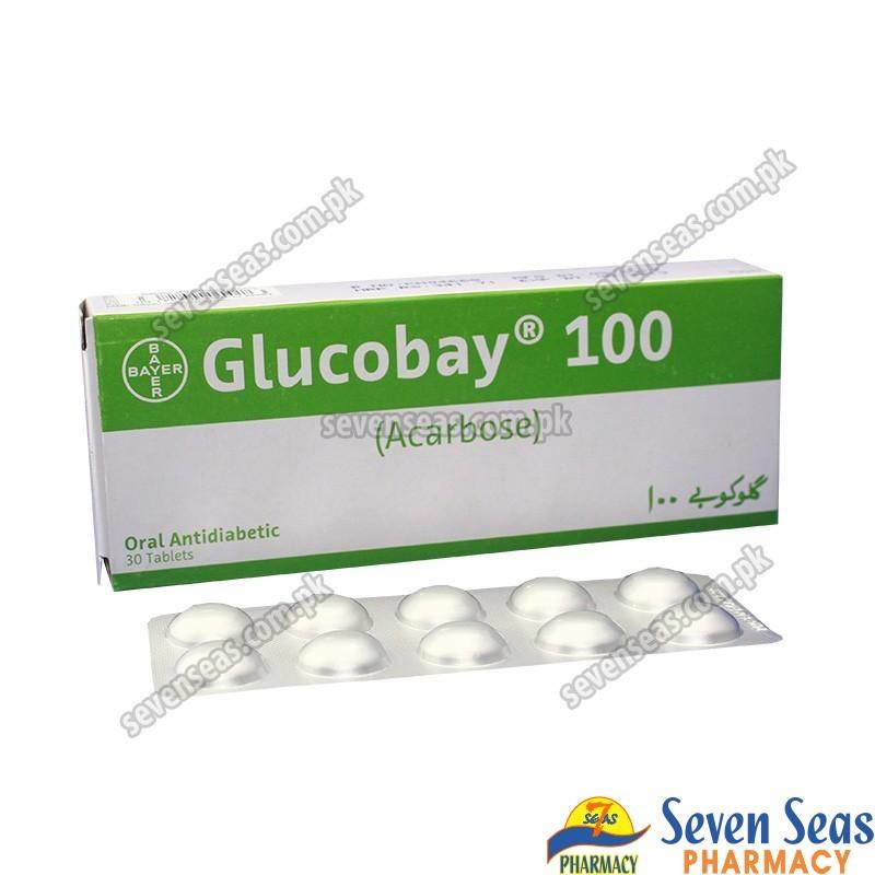 GLUCOBAY TAB 100MG (3X10)