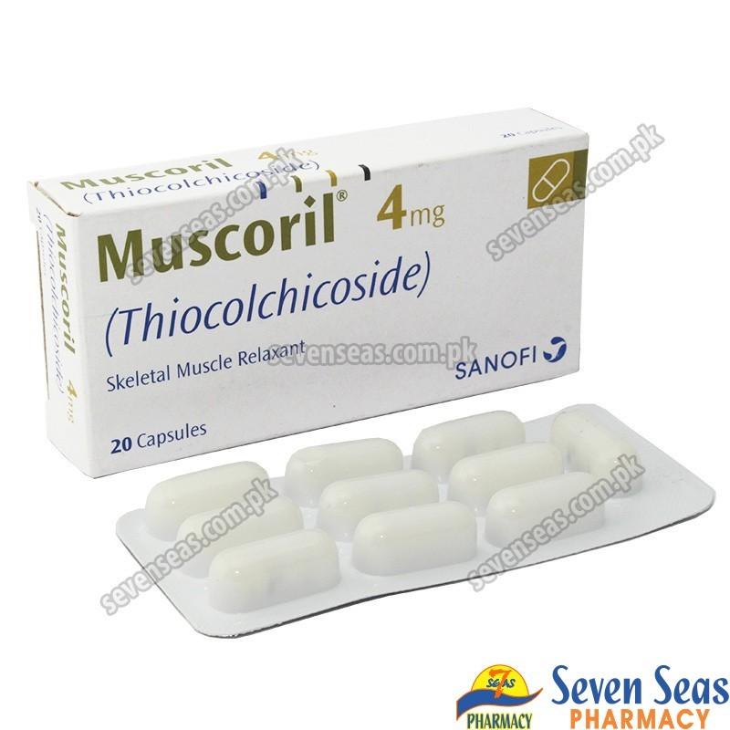 MUSCORIL CAP  (2X10)
