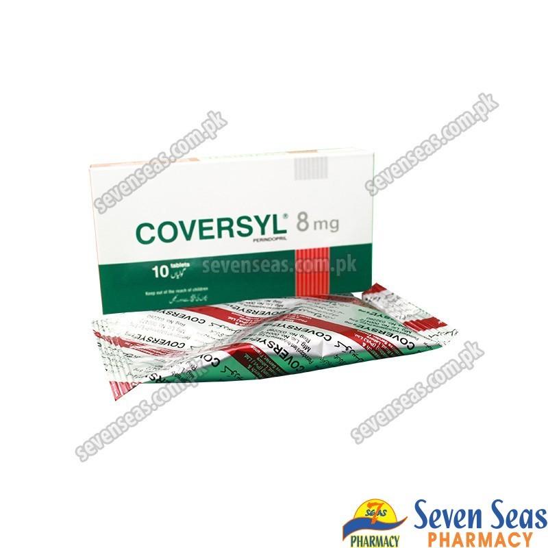COVERSYL TAB 8MG (1X10)