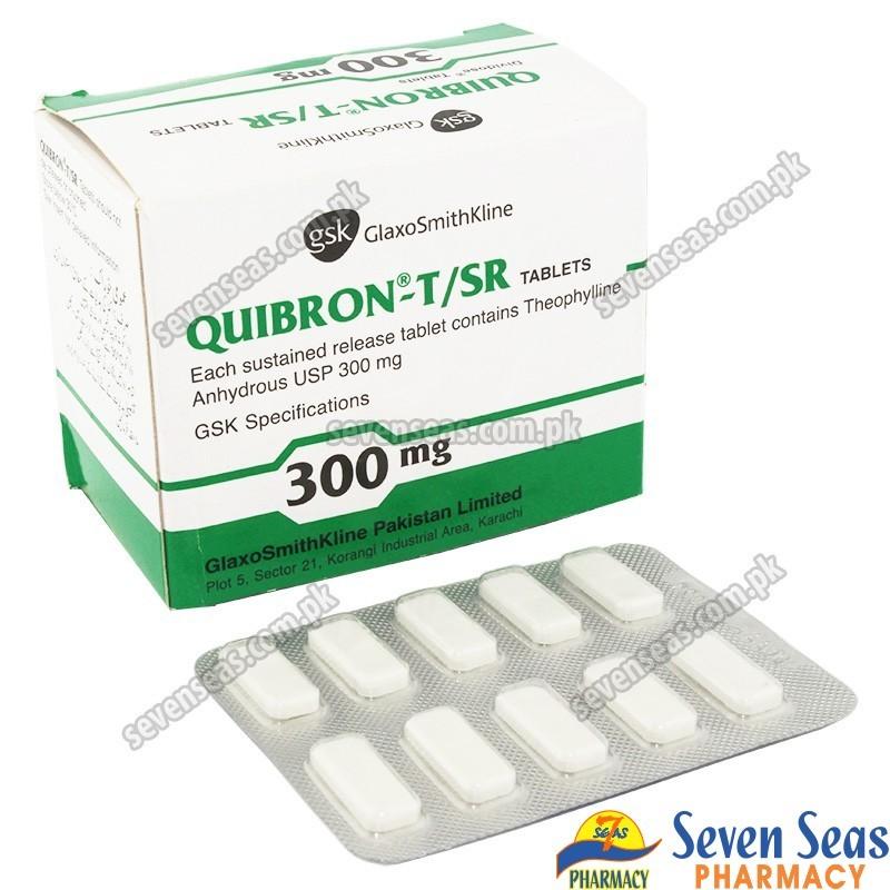 QUIBRON T-SR TAB 300MG (10X10)