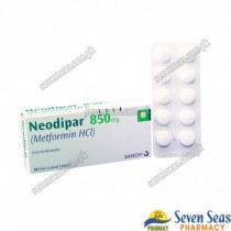 NEODIPAR TAB 850MG (3X10)