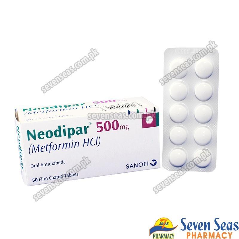 NEODIPAR TAB 500MG (5X10)