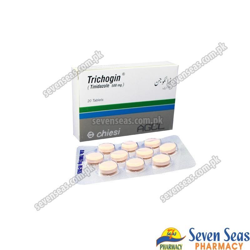 TRICHOGIN TAB 500MG (2X10)