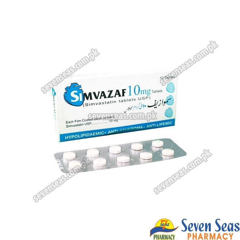 SIMVAZAF TAB 10MG (1X10)