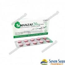 SIMVAZAF TAB 20MG (1X10)