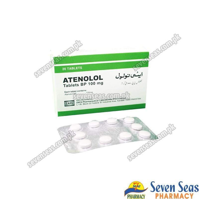 ATENOLOL TAB 100MG (2X10)