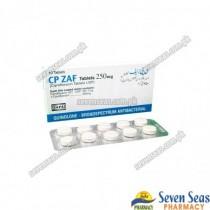 CP-ZAF TAB 250MG (1X10)