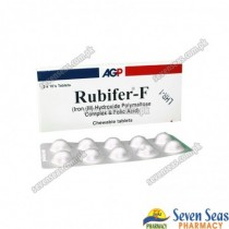 RUBIFER-F TAB 450MG (2X10)