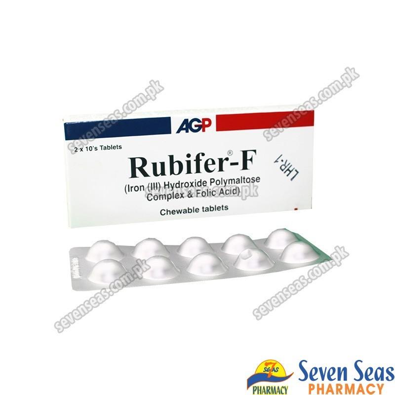RUBIFER-F TAB 450MG (2X10)