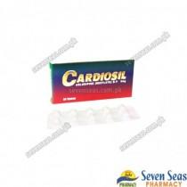 CARDIOSIL TAB 5MG (2X10)