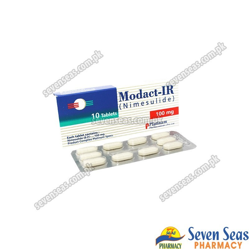 MODACT-IR TAB 100MG (1X10)