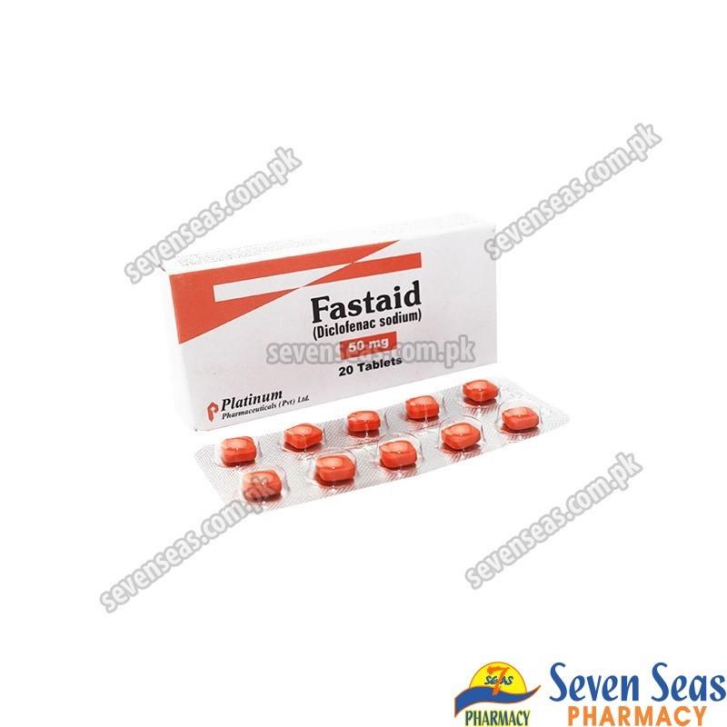 FASTAID TAB 50MG (2X10)