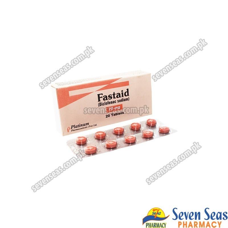 FASTAID TAB 75MG (2X10)