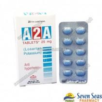 A2A TAB 25MG (2X10)