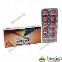 SURVIVE TAB 10MG (1X10)
