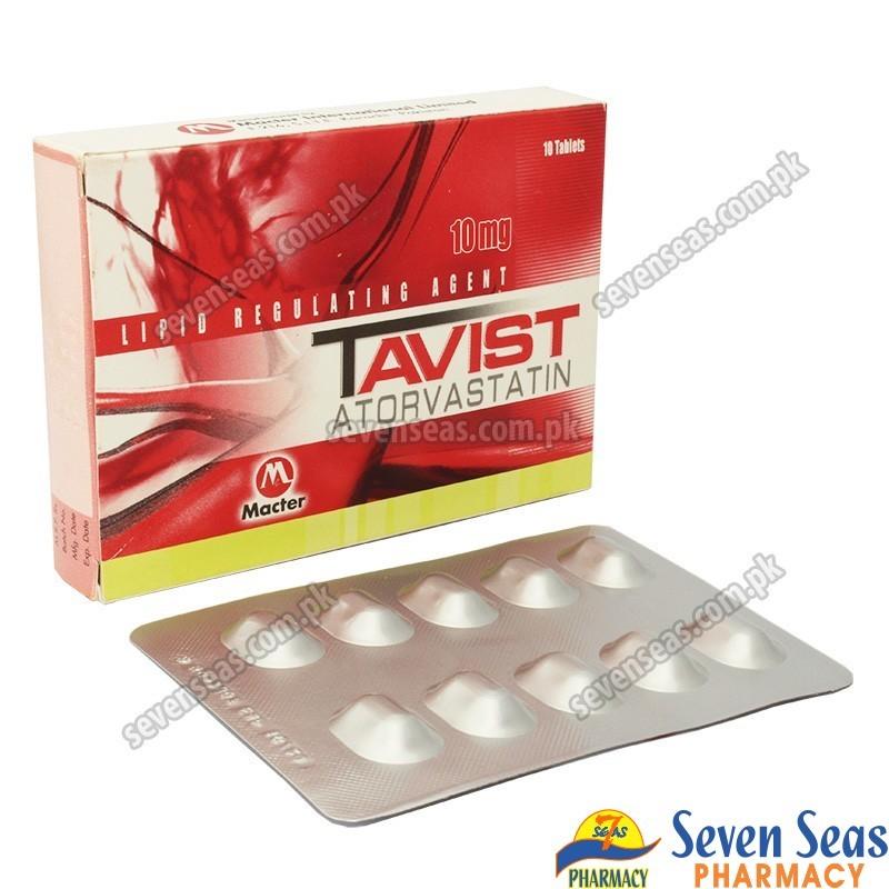 TAVIST TAB 10MG (1X10)