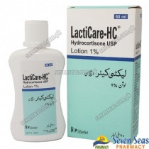 LACTICARE-HC LOT 1% (60ML)