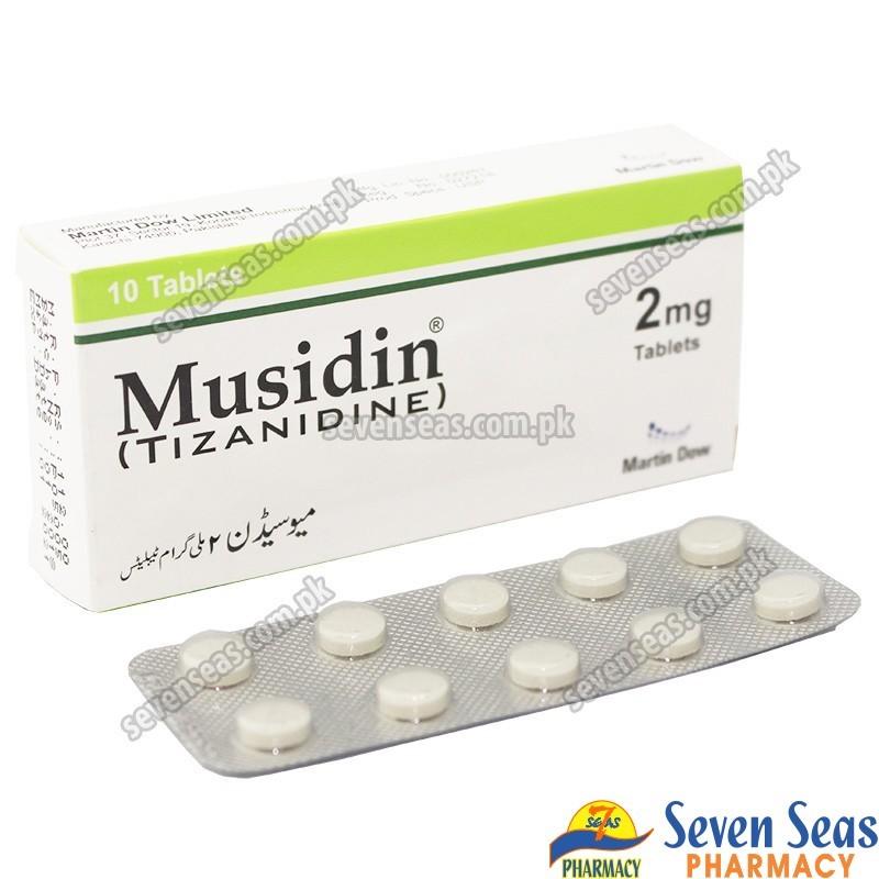 MUSIDIN TAB 2MG (1X10)