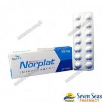 NORPLAT TAB 75MG (2X14)
