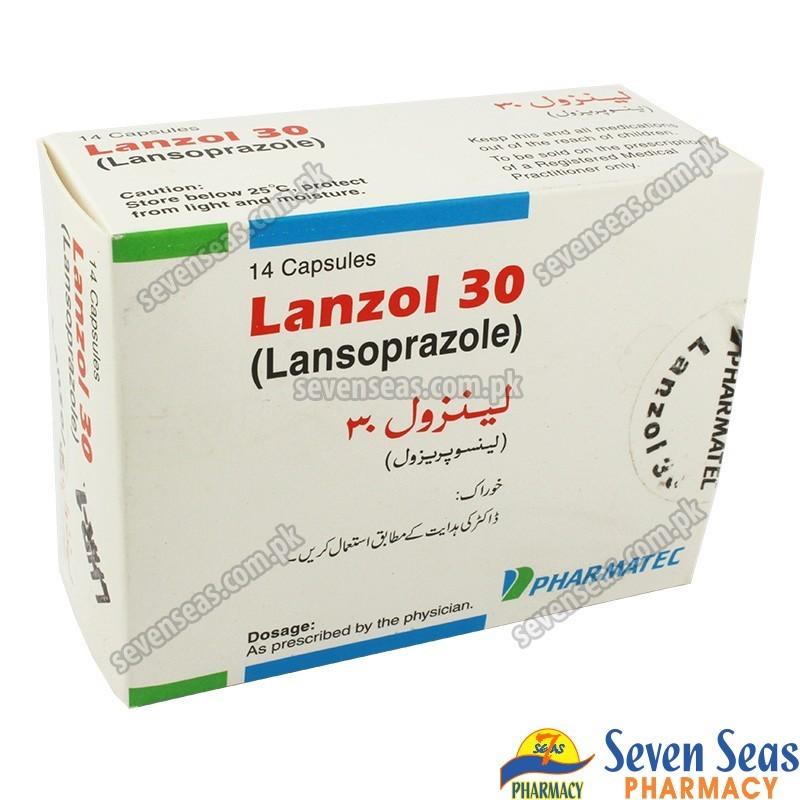 LANZOL CAP 30MG (1X14)