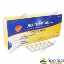 ACTIFED-P COLD TAB  (40X10)