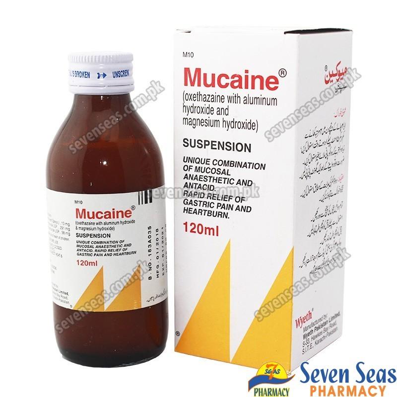 MUCAINE SYP  (120ML)