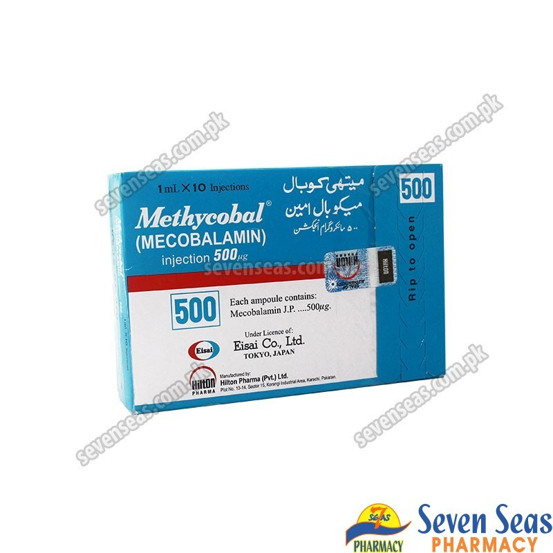 METHYCOBAL INJ 500MG (10X1ML)