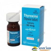 THYROXINE TAB 50MCG (1X100)