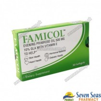 FAMICOL CAP 500MG (1X30)