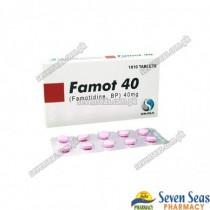 FAMOT-40 TAB 40MG (1X10)