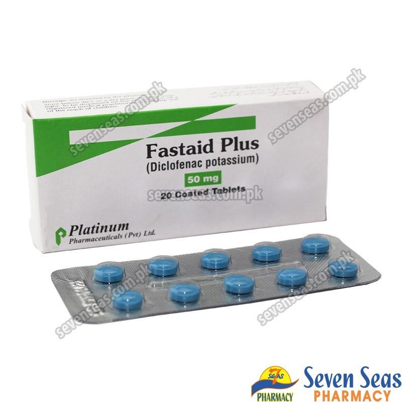 FASTAID PLUS TAB 50MG (2X10)