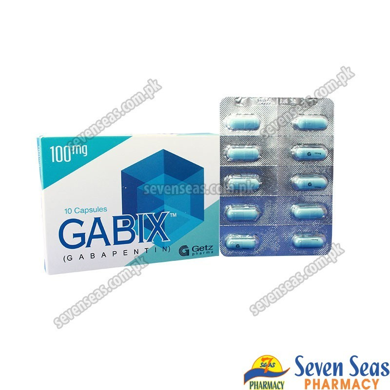 GABIX CAP 100MG (1X10)