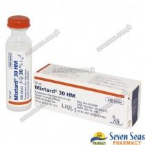 MIXTARD 30 (HM) INJ 100IU/ML (10ML)