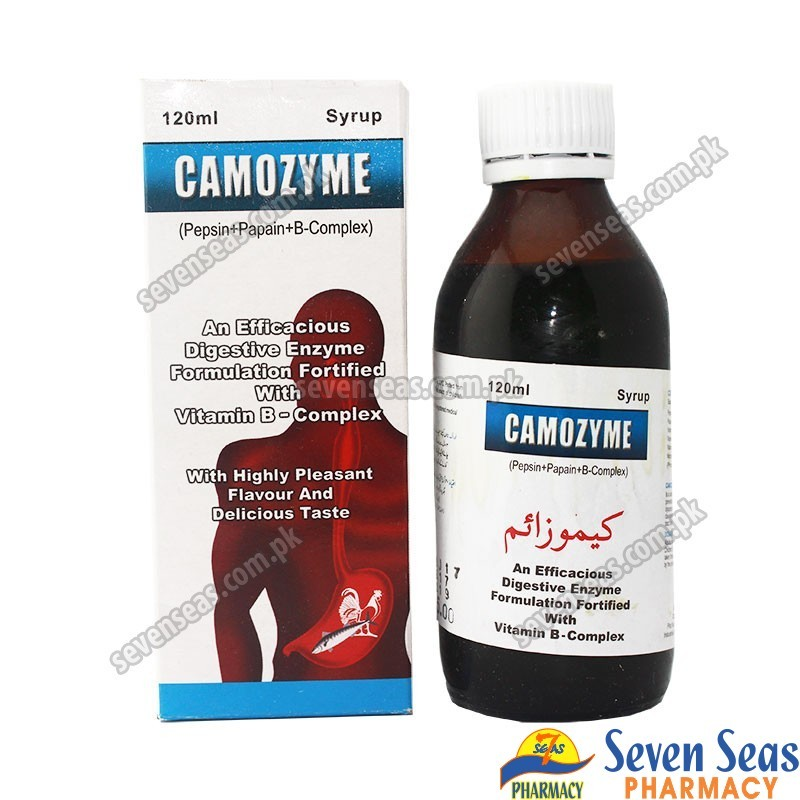 CAMOZYME SYP  (120ML)