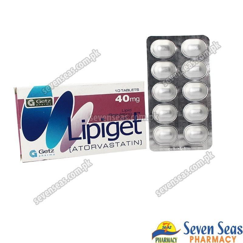 LIPIGET TAB 40MG (1X10)