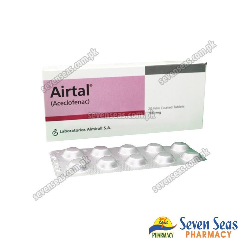 AIRTAL TAB 100MG (1X20)